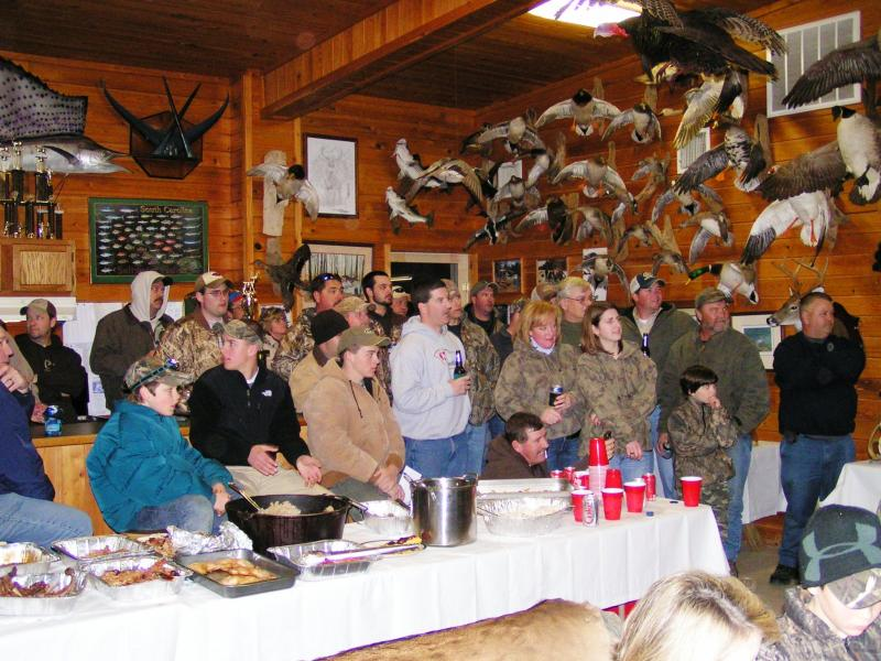 Pack Hunting Club Big Buck Supper Awards Ceremony February 2010